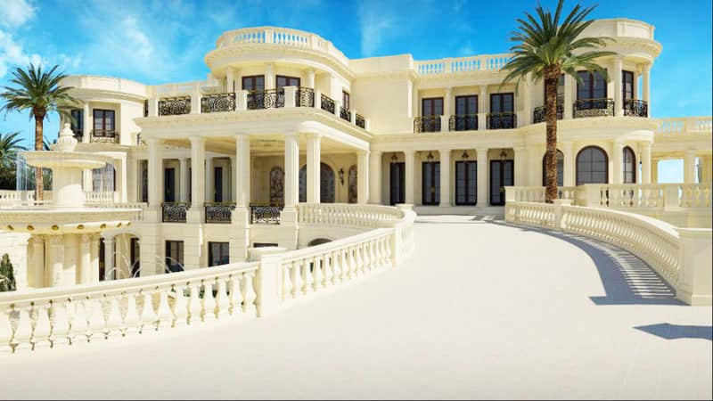La Palais Royal Mansion $159 Million