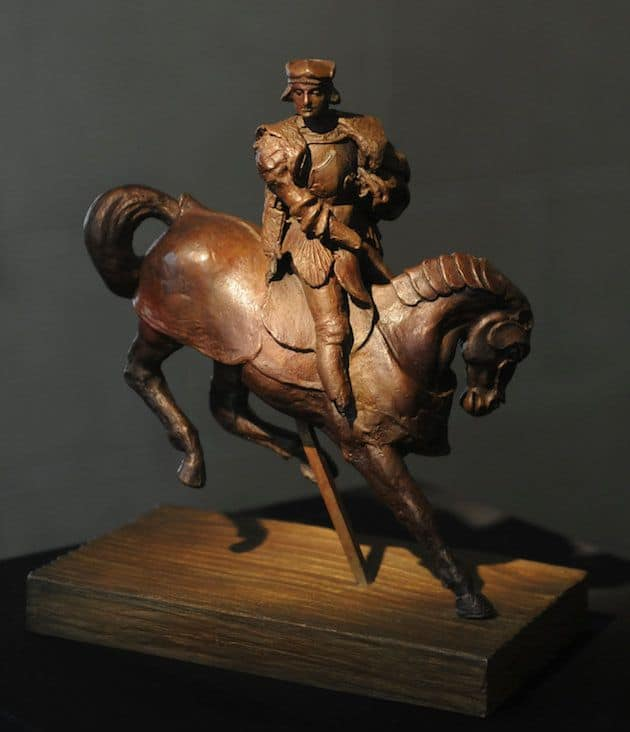 Luxury-Fine-Art-Collection-Leonardo-DaVinci-Horse-and-Rider-Exclusive-Luxury-Beverly-Hills-Magazine-1