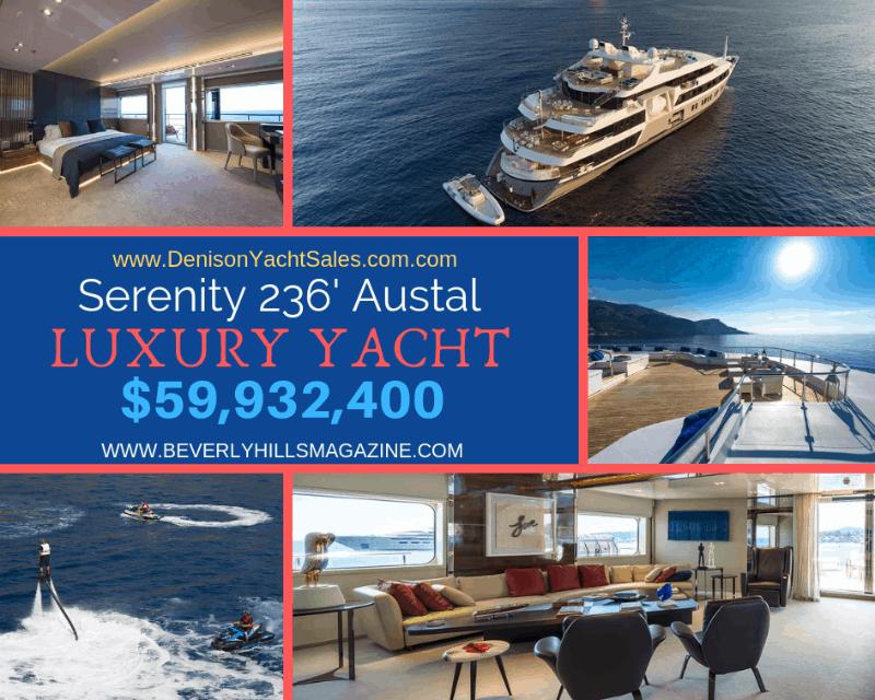 Serenity 236' Austal Luxury Yacht 2003 #beverlyhills #bevhillsmag #beverlyhillsmagazine #bevhillsmag #yacht #megayachts #travel #luxury #lifestyle #superyachts #yachting #yachtlife #megayachts