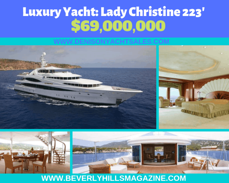 223' Luxury Yacht For Sale Online Pictures