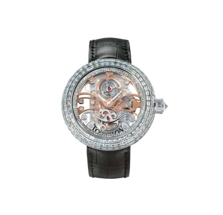 Jacob & Co. Crystal Tourbilon $720K. BUY NOW!!! #beverlyhills #watches #shop #jewelry #man #watch #bevhillsmag #bevelryhillsmagazine