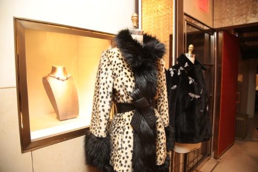 Maison Atia + Bvlgari event in LA #fashion #style #bvlgari #maisonatia #fauxfur #coats