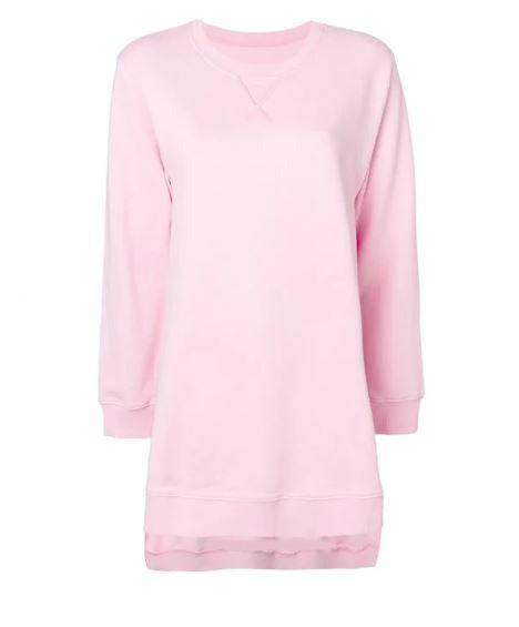Pink Maison Margiela Sweatshirt. BUY NOW!!! #shop #fashion #style #shop #shopping #clothing #beverlyhills #dress #beverlyhillsmagazine #bevhillsmag #sweater