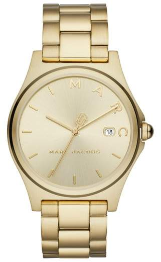 Marc Jacobs Gold Watch. BUY NOW!!!