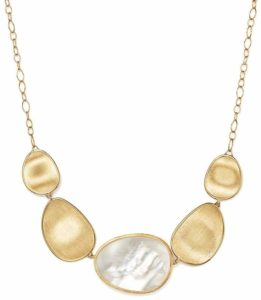 """Marco Bicego """"Mother of Pearl"""" Gold Necklace. BUY NOW!!!"""