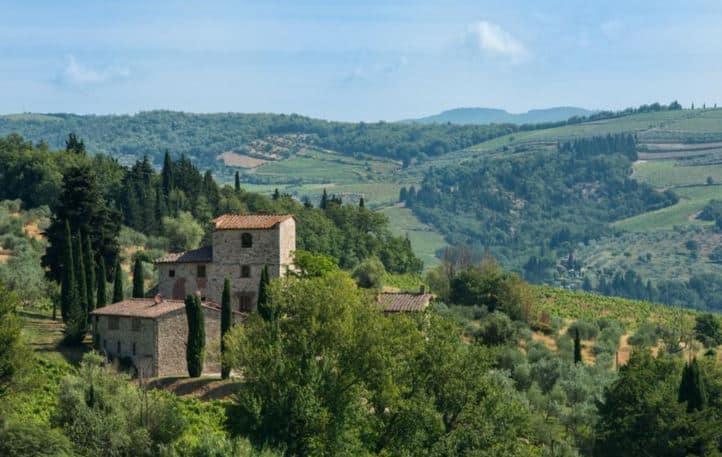 Michelangelo's Tuscany Villa