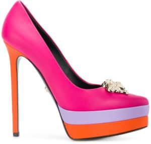 Colorful Versace Heels. BUY NOW!!!