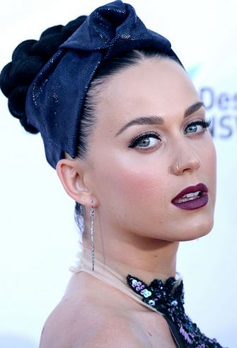 Most Watched Musician on YouTube last year with 2.4 Billion views: KATY PERRY