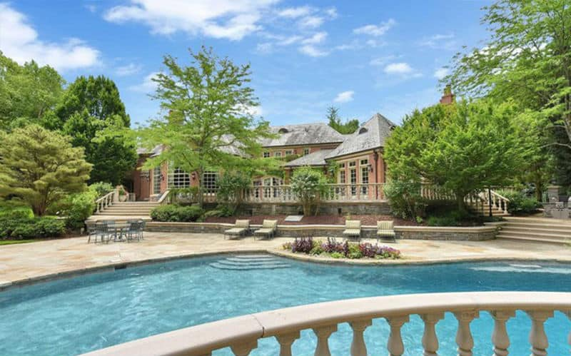 A Charming English Country Mansion in New Jersey #realestate #homes #newjersey #homesforsale #beverlyhills #mansion #BevHillsMag #beverlyhillsmagazine