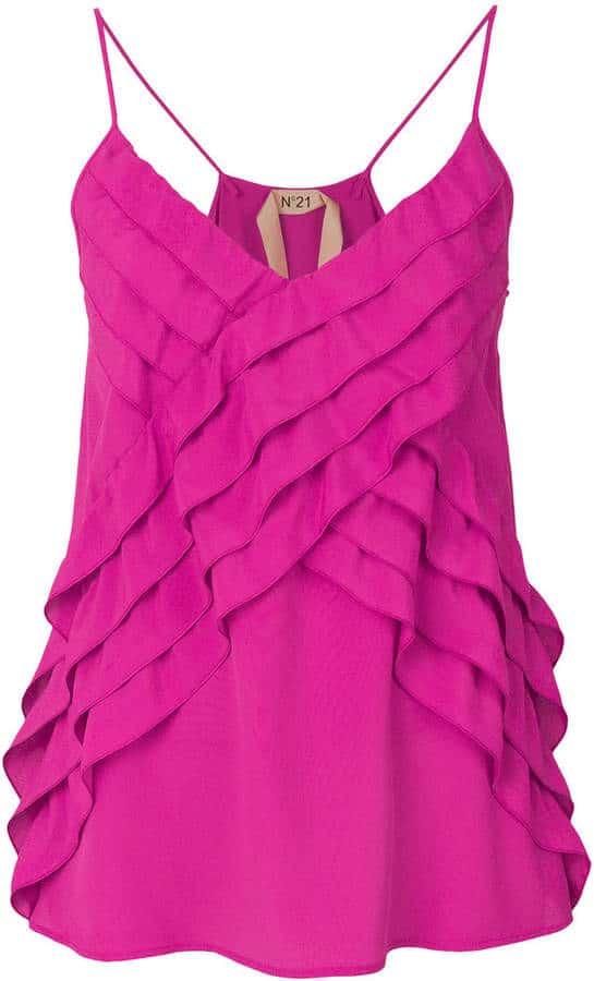 No. 21 Pink Blouse. BUY NOW!!! #BevHillsMag #beverlyhillsmagazine #fashion #shop #style #shopping
