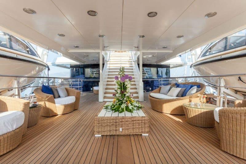 Luxury Yacht: Golden Yachts O'Mega #beverlyhills #beverlyhillsmagazine #bevhillsmag #yacht #megayachts #travel #luxury #lifestyle #superyachts #yachting #yachtlife #megayachts