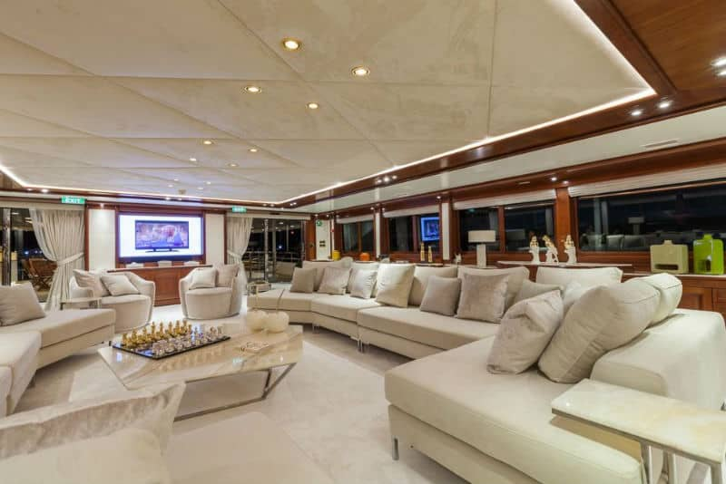 Luxury Yacht: Golden Yachts O'Mega #beverlyhills #beverlyhillsmagazine #bevhillsmag #yacht #megayachts #travel #luxury #lifestyle #superyachts #yachting #yachtlife #megayachts
