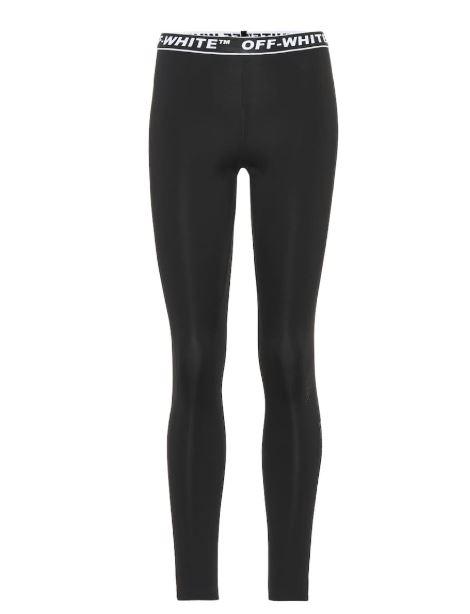 Off- White Black Leggings. BUY NOW!!! #shop #fashion #style #shop #shopping #clothing #beverlyhills #leggings #fitness #clothes #beverlyhillsmagazine #bevhillsmag