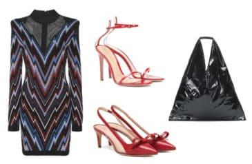 Oriental Balmain Dress Style. SHOP NOW!!! #shop #fashion #style #shop #shopping #clothing #beverlyhills #balmain #dress #highheels #red #valentino #gianvitorossi #beverlyhillsmagazine #bevhillsmag #dresses