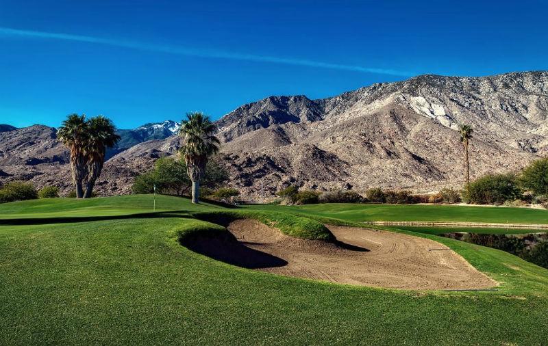 Beautiful Indian Canyon Golf Course