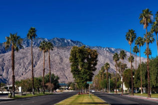 Beautiful Palm Springs Mountain Range
