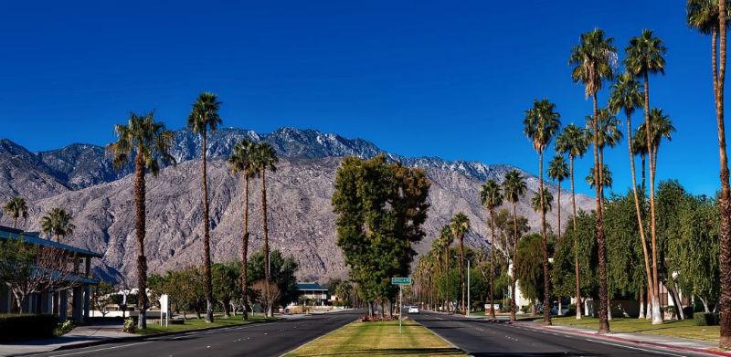 Beautiful Palm Springs Mountain Range