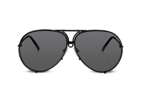 Porsche Design 8478 Black Sunglasses