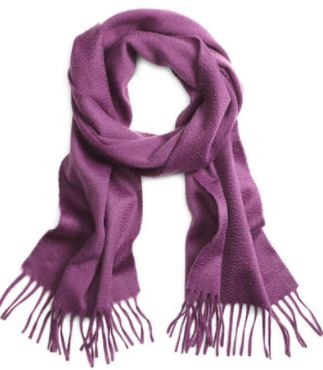 Cashmere Purple Scarf. BUY NOW!!!