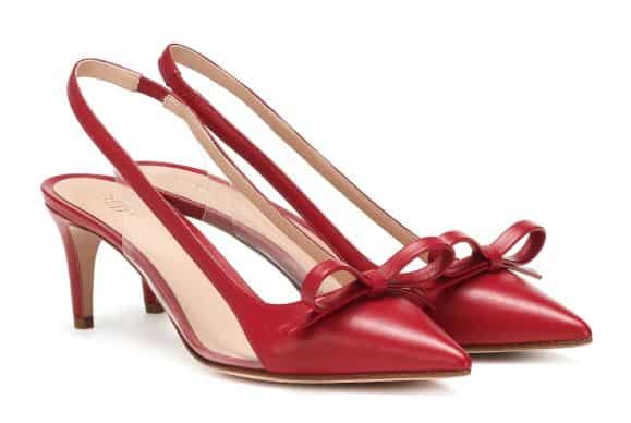 REDValentino Slingbacks. BUY NOW!!! #shop #fashion #style #shop #shopping #clothing #beverlyhills #balmain #dress #highheels #red #valentino #gianvitorossi #beverlyhillsmagazine #bevhillsmag #dresses