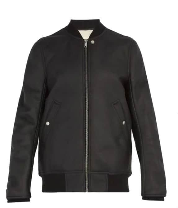 Rick Owens Bomber Jacket. BUY NOW!!! #beverlyhillsmagazine #beverlyhills #fashion #style #shop #shopping #shoes #styleformen