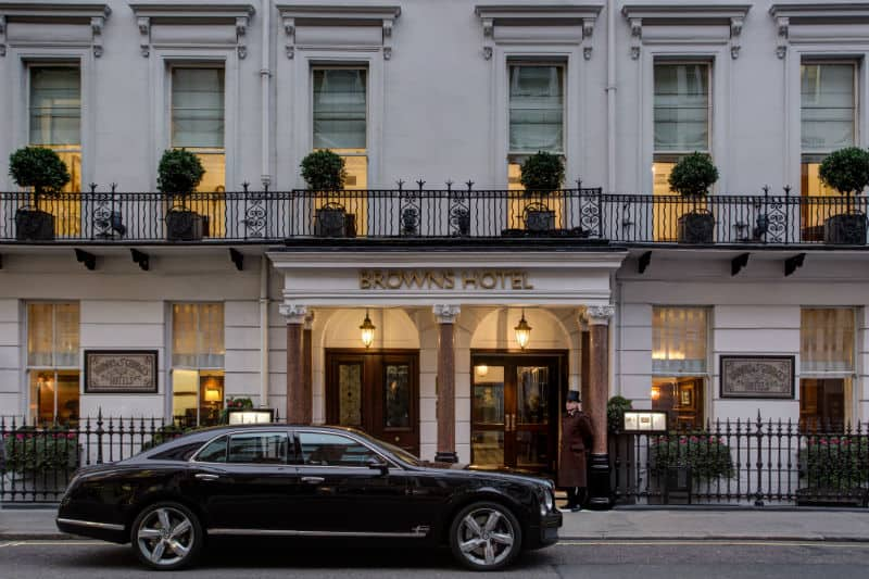 Brown's Hotel London #travel #5star #luxury #hotels #england #beverlyhills #beverlyhillsmagazine #bevhillsmag