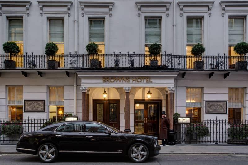 Brown's Hotel London #travel #5star #luxury #hotels #england #beverlyhills #beverlyhillsmagazine #bevhillsmag