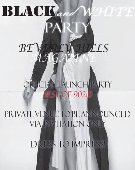 Official Beverly Hills Magazine Launch Party
