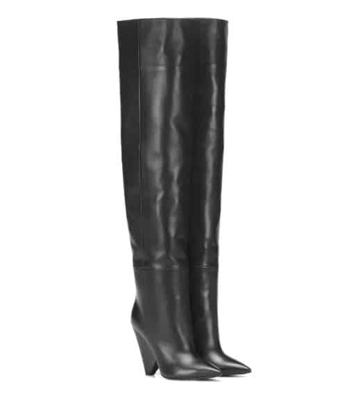 Saint Laurent Knee High Leather Boots. BUY NOW!!! #shop #fashion #style #shop #shopping #clothing #beverlyhills #dress #shoes #boots #beverlyhillsmagazine #bevhillsmag #shoes #boots