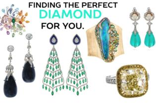 Finding The Perfect Diamond For You - white diamond #diamonds #whitegold #rings #earrings #white #gold #silver #Chopard #boucheron #lynnban #monicavinader #jewels #black #gemstones #beautiful #gems #beverlyhills #beautiful #shopping #shop #BevHillsMag