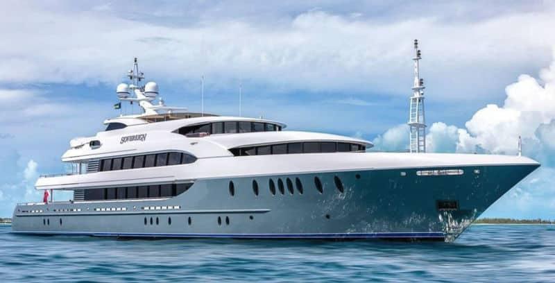 Sovereign 180 Newcastle For Sale $30,000,000 #beverlyhills #beverlyhillsmagazine #bevhillsmag #yacht #megayachts #travel #luxury #lifestyle
