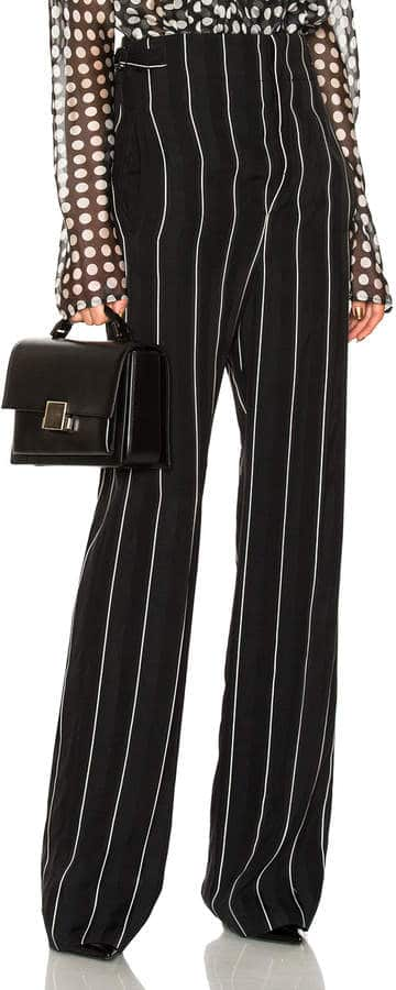Haider Ackermann High Waisted Striped Slacks. BUY NOW!!!