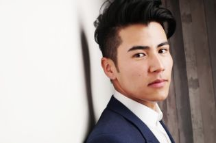 Handsome Asian Male Model Business Entreprenuer