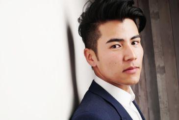 Handsome Asian Male Model Business Entreprenuer