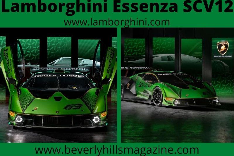 Track-Only Fast Car: The Lamborghini Essenza SCV12 #beverlyhills #beverlyhillsmagazine #coolcar #fastcar #dreamcar #luxurycar #cars #carmagazine #popularcarmagazine #lamborghini #lamborghiniessenzascv12 #essenzascv12 #sportscar #track-onlycar #hypercar #supersportscar #racing car #trackcar