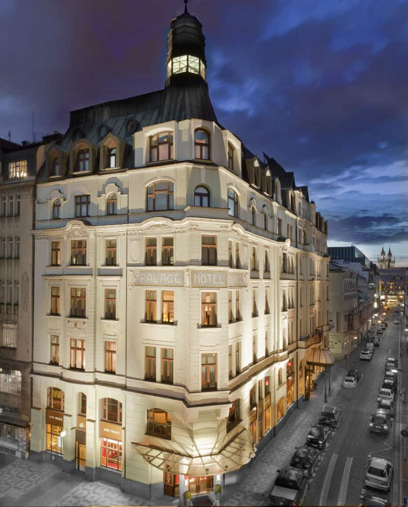 Art Noveau Palace Hotel, Prague, Czech Republic ShareEmbedEmail