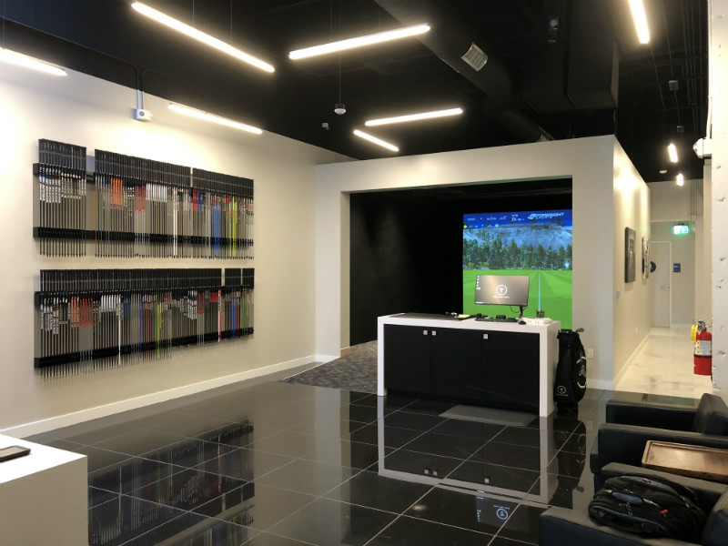 True Spec Golf Fitting Studio in Beverly Hills