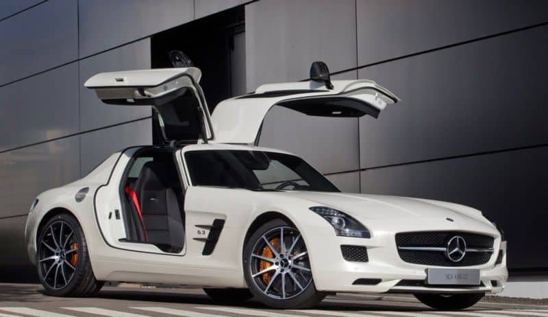 Dream Cars Mercedes Benz SLS AMG GT