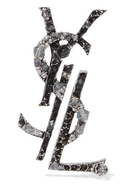 YSL Earrings. BUY NOW!!! #beverlyhills #watches #shop #jewelry #necklace #rings #earrings #bevhillsmag #bevelryhillsmagazine