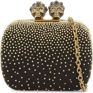 Alexander McQueen Studded Clutch. BUY NOW!!!