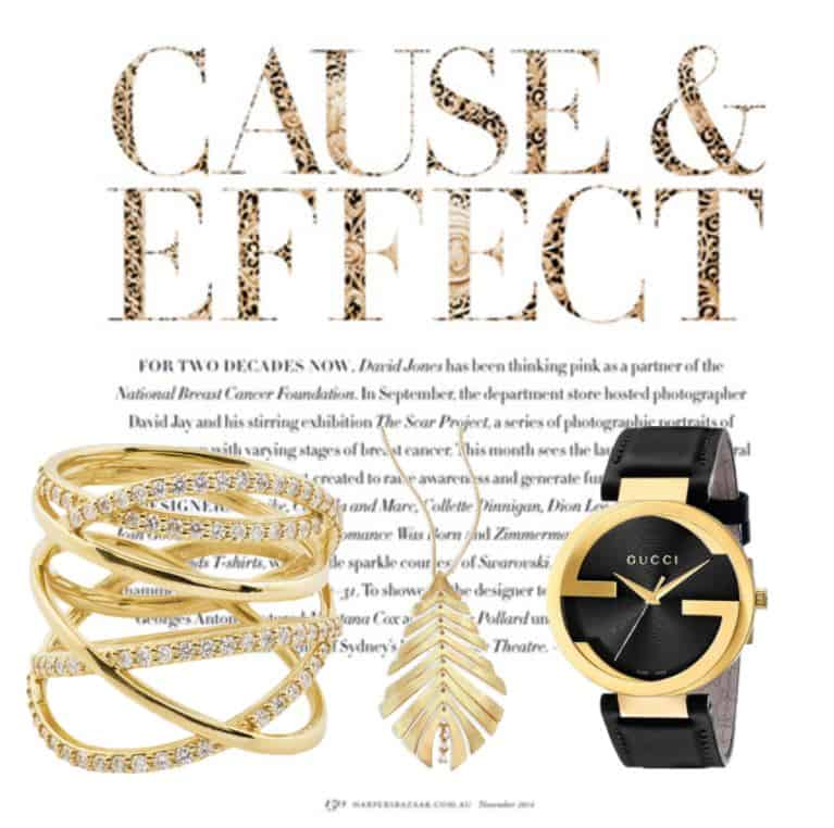 Amazing Gold & Black Jewelry Set