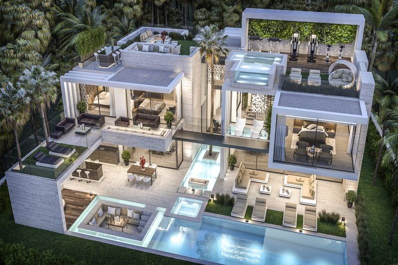 Dubai Design Firm B8 Architecture Builds Your Dream Home #dreamhomes #realestate #construction #architecture #BevHillsMag