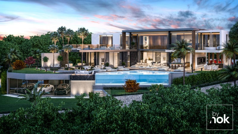 Architecture, construction and development of Villa Do Mar by By Nok