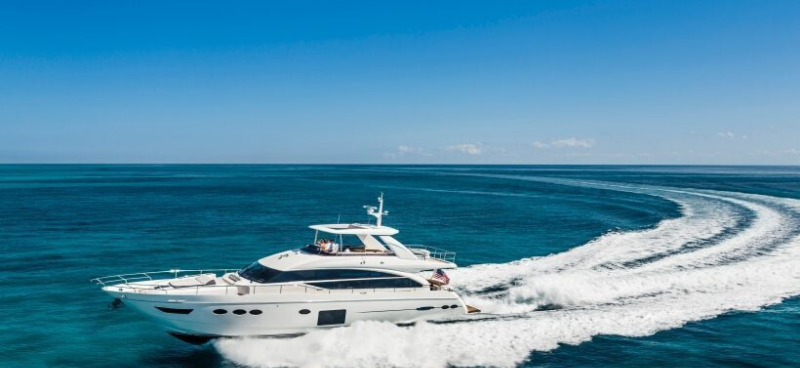 Luxury Yachting Vessel: The 84' Princess #yachts #yacht #luxury #yachting #yachtlife