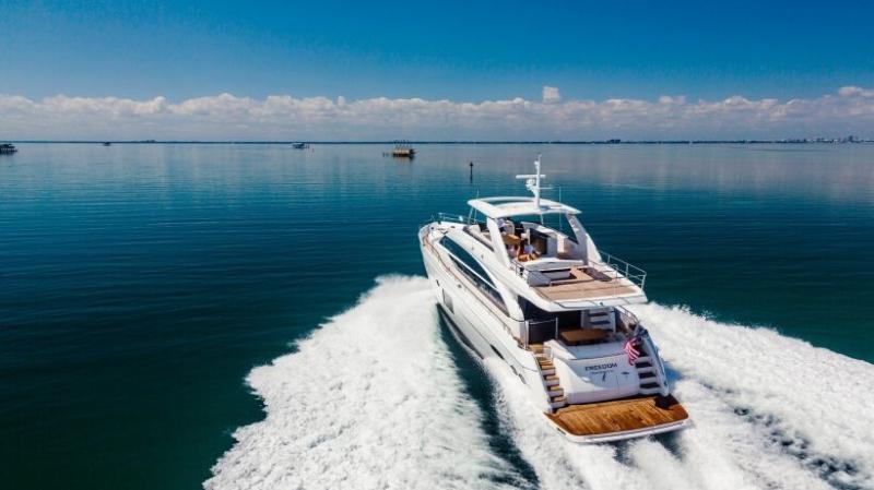 Luxury Yachting Vessel: The 84' Princess #yachts #yacht #luxury #yachting #yachtlife