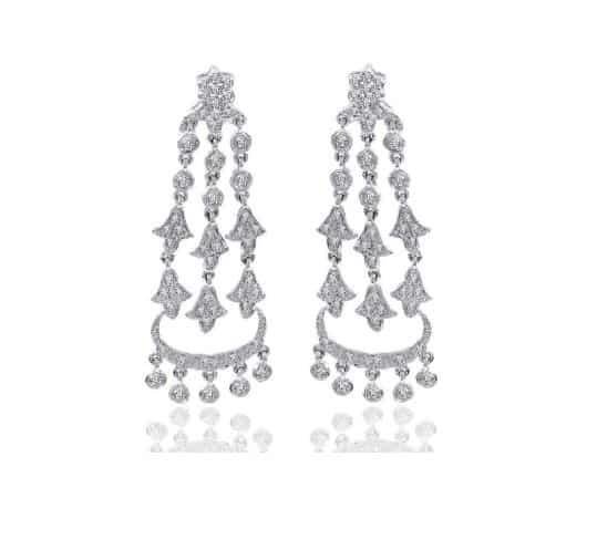 Diamond Chandelier Earrings. BUY NOW!!! #beverlyhills #beverlyhillsmagazine #bevhillsmag #shop #shopping #jewelry