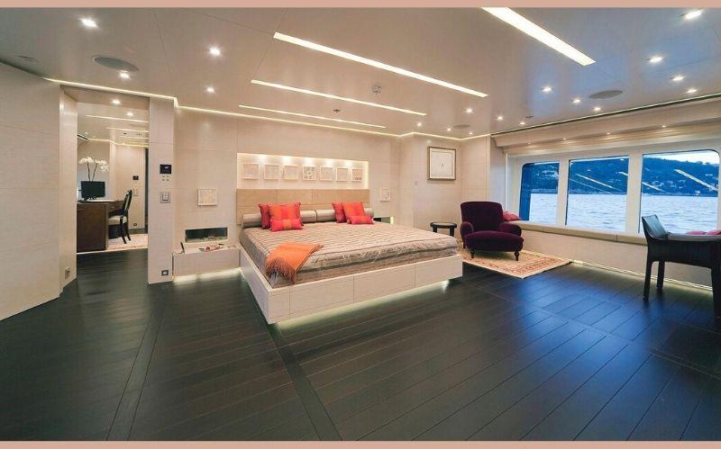 Magnificent Yacht: The Baraka 190' Motor #yachts#luxury#yacht#yacht life#yachting#beverly hills#beverly hills magazine