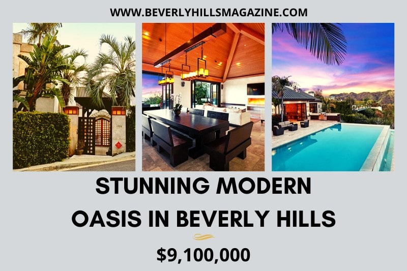 Stunning Modern Oasis in Beverly Hills: #beverlyhillsmagazine #beverlyhills #bevhillsmag #modernoasis #beverlyhillshome #buyahome #househunting #dreamhome #luxury #luxuryhome #mansions