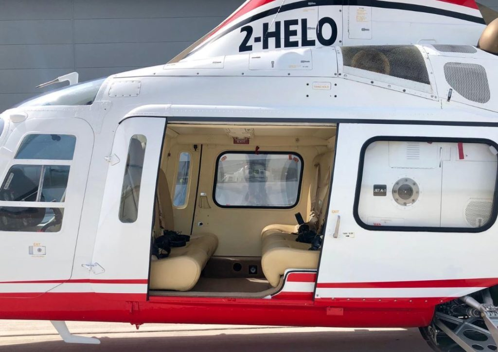Cool Helicopter: The Agusta A109C