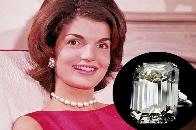 Which Celebrities Have the Best Diamond Rings? 3celebrities #diamonds #rings #jackieO #bevhillsmag #beverlyhills #beverlyhillsmagazine